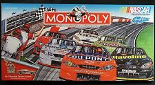 Nascar Monopoly Game Collector's Edition Sam Bass Unsealed- inside items sealed