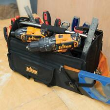 Triton Tool Bag Open Tote Hard Base 400 X 190 280mm
