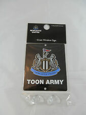 Newcastle United FC Car Window Sign / Wall Sign - Official Merchandise