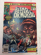 The Island of Dr. Moreau #1 (1977, Marvel) See Pics!