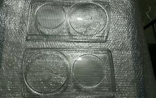 MERCEDES W123 EURO HEADLIGHT GLASSES NEW PAIR 1976-1984 models 300D 240D