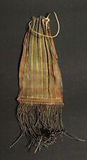 Old cotton bag blackened by smoke - Atoni artifact