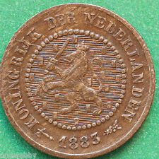1883 - Netherlands - 1/2 Cent - SNo22036