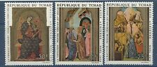TCHAD 1970 PA N°75/778** Tableaux, Noël, Religion, Christmas Paintings CHAD MNH