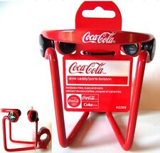 Coca-Cola Coke Bicicleta Botellas Latas Soporte de Ee.Uu. rojo Drink Holder