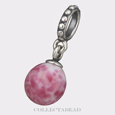 Authentic Pandora Silver Dangle Murano Speckled Beauty Glass Bead 791600