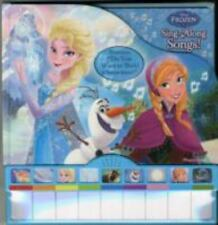 Frozen Piano Book Mini-Deluxe Sound Book-ExLibrary