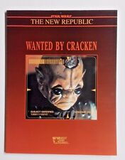 1993 Wanted by Cracken-Star Wars Role Playing Game Book/RPG- West End(40062)