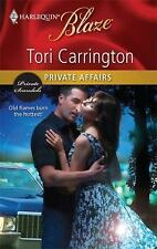 Private Affairs (Harlequin Blaze), Carrington, Tori, , Book, Good