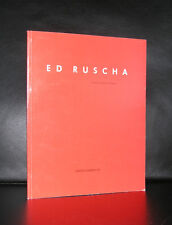 Ed Ruscha # RECENT WORKS ON PAPER# 1988, nm, 1200 cps.