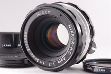 【Exc+++】Nikon NIKKOR-H.C Auto 50mm f/2 Non-Ai MF Lens  w/Hood from JAPAN  #11