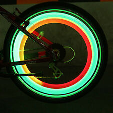 Night Ride Green Lights Car Bicycle Bike Cycling Wheel Tire Spoke LED Light Lamp