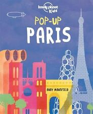 Pop-up Paris (Lonely Planet Kids) New Hardcover Book Lonely Planet Kids