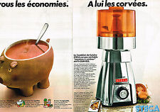 PUBLICITE ADVERTISING 024   1978   STECA    combiné de cuisine ( 2 pages)