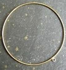 Gold vermeil 75mm bracelet avec 1 cerceau