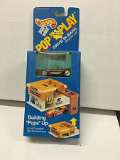 Drive-In-Bank w/ Corvette * Hot Wheels Pop N Play Vintage * L4