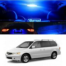 Blue Xenon LED Lights Interior Package Kit For Honda ODYSSEY Van 1999 - 2004
