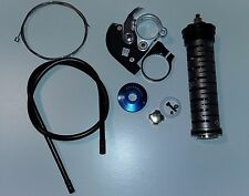 RockShox Scatola Titanium Damper BLACK KIT CON REMOTE LOCKOUT per 32 mm MONTANTI
