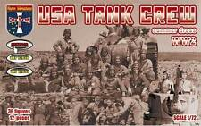 Orion 1/72 72049 WWII US Tank Crew (Summer Dress) (36 Figures, 12 Poses)