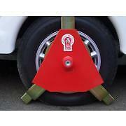 "Trailer Security - Bulldog 155/D Titan Wheel Clamp 10"" Wheels - no trim - 145x10"