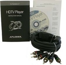 Xploder Component AV Cable pour Playstation 2 et 3 - HDTV PLAYER