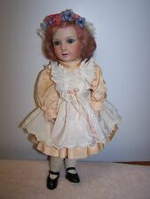 Antique Reproduction Jumeau Paris French  Doll Stunning