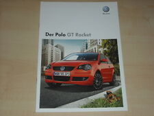 64966) VW Polo 9N GT Rocket Prospekt 10/2008