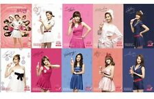 "SNSD Girl's Generation Official Promo ""Miero Beauty N"" Mini Poster 2009 RARE!"