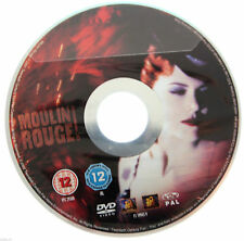 Moulin Rouge DVD R2 PAL Nicole Kidman Kylie Minogue Ewan McGregor Film DISC ONLY