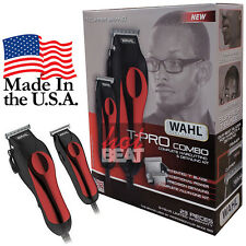 Wahl Professional Hair Clipper Kit 23 Piece Barber Pro Hair Cutting Set USA Made
