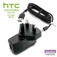 Genuine HTC Mains Wall Charger for Desire 510 620 820 One Max One Mini USB Cable