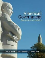 American Government  Institutions and Policies AP Ed John DiIulio NEW SHIPS FREE