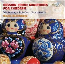 Russian Piano Miniatures for Children, New Music