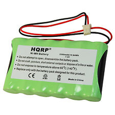 HQRP 7.2V 2200mAh Battery for ADT Safewatch QuickConnect, QuickConnect Plus
