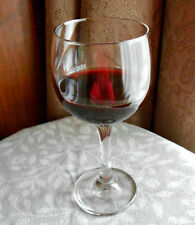 Fake Glass Wine Merlot Burgundy Handcrafted Faux FOOD Home Staging Photo PROP