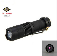 New  OSRAM 7W 850nm Zoom Infrared Radiation IR LED Night Vision Flashlight Torch