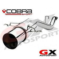 SB01y Cobra Sport Subaru Impreza WRX STI 06-07 Race Type Rear Box Exhaust
