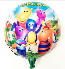 "18"" Backyardigans Round Foil Balloon 45cm 18 inches"