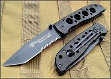 SMITH & WESSON EXTREME OPS TACTICAL FOLDING KNIFE 4 INCH CLOSED CK5TBS