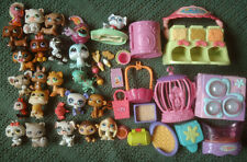 LITTLEST PET SHOP Mixed Lot Animals & Accessories Dogs Cats Panda Frog Monkey