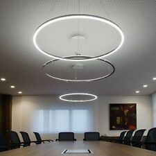 Big Circuit 60cm Modern LED Round Crystal Pendant Lamp Diamond Ring Kitchen Ceil