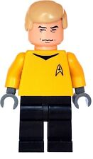 Custom Minifigure Captain James kirk Superhero Star Trek Printed on LEGO Parts