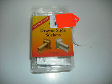 "RV - Drawer Slide Sockets - ""?"" Shape Size - Replacement Set of Two"