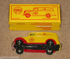 SHELL DIE-CAST METAL TOY 1938 CHEVY PANEL BANK BRAND NEW MIB ERTL