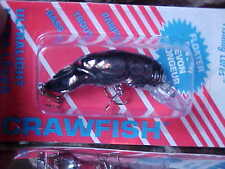 Rebel Ultra Lite Size Crawfish Lure for Bass/Panfish F7701 in Chrome Black Back