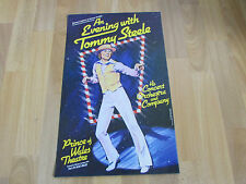 An EVENING with Tommy STEELE Original PRINCE of WALES Theatre Poster