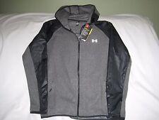 Under Armour Women's XL Gray & Black Cold Gear Infrared Survivor Fleece NWT