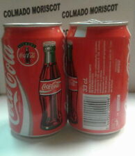 COCA COLA 33 cl SIEMPRE CONTOUR PICTURE COBEGA BARCELONA SPAIN empty can vacia