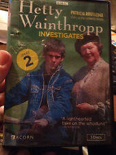 HETTY WAINTHROPP INVESTIGATES---DVD SET (SERIES 2)