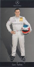 Gary Paffett Signed Mercedes-Benz DTM Promo Card 2.